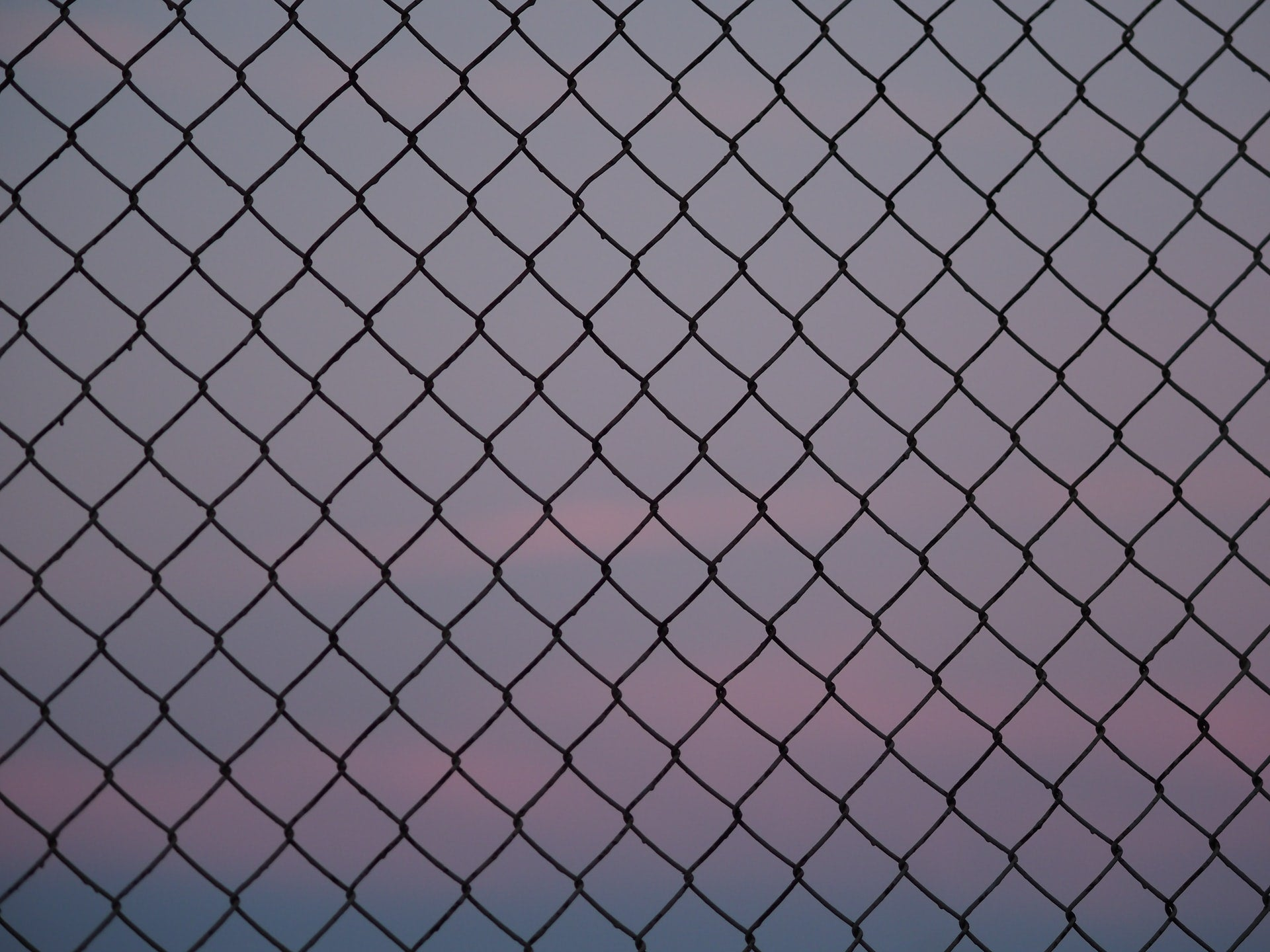 A photo of a wire fence