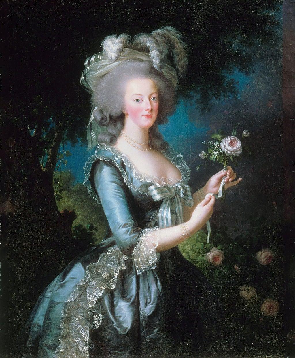 Louise Élisabeth Vigée Le Brun - Marie Antoinette