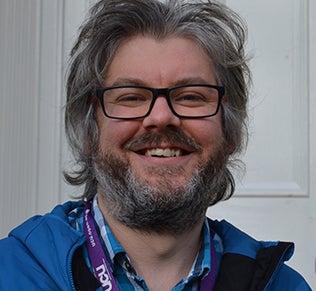 Dr Marcus Badger, Open University Lecturer