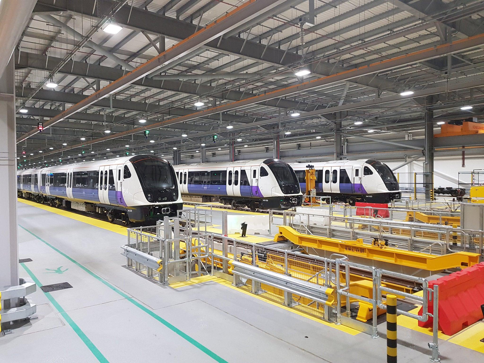 Trains on the Elizabeth Line - The Fifteen Billion Pound Railway