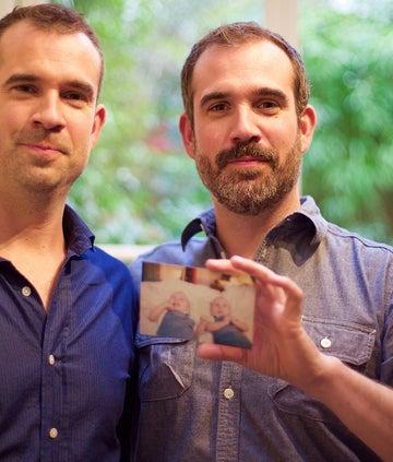Chris and Xand van Tullekan