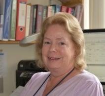 A photograph of Professor Hilary MacQueen