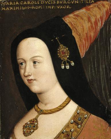 Painting of Maria von Burgundy