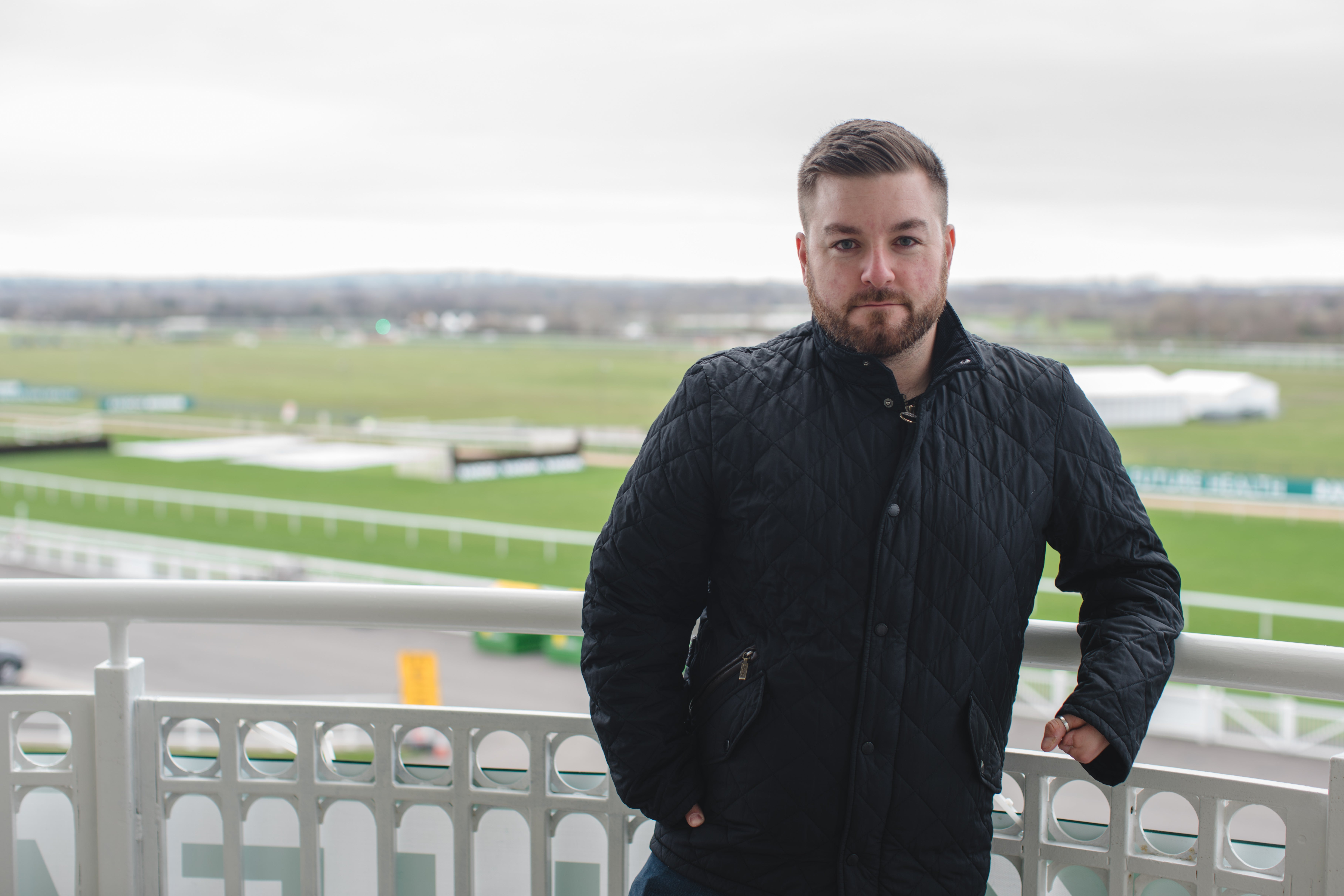 Alex Brooker presenting the NHS: A People's History, a BBC and OU partnership series