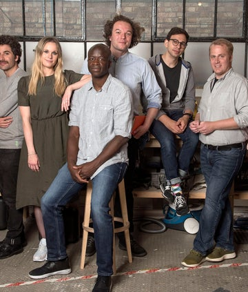 The Big Life Fix team, from Inventing the Impossible: The Big Life Fix