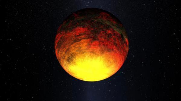 Artist concept of Kepler-10b