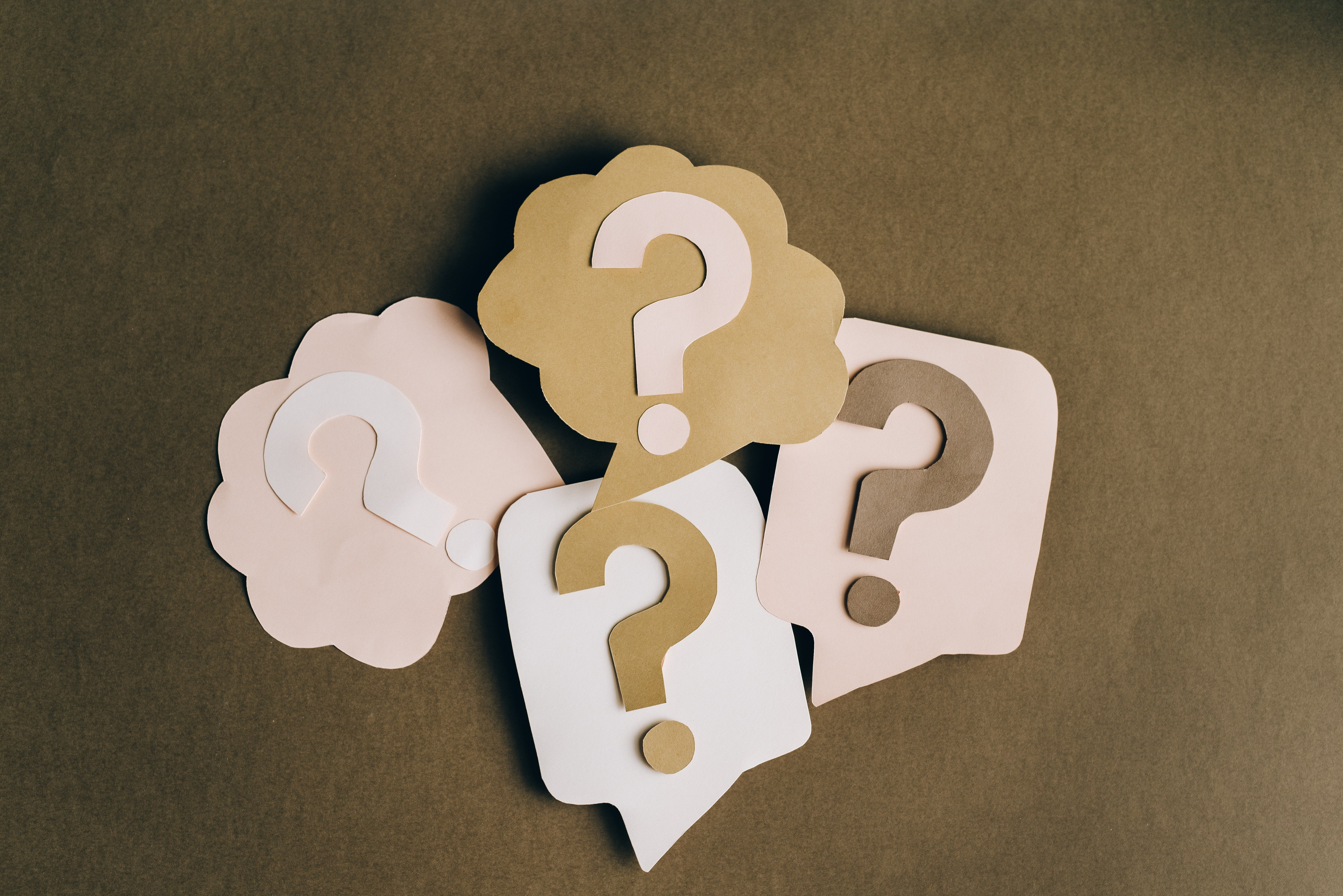 paper question marks