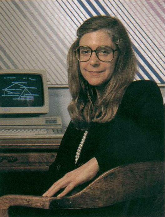 Margaret Hamilton in 1989