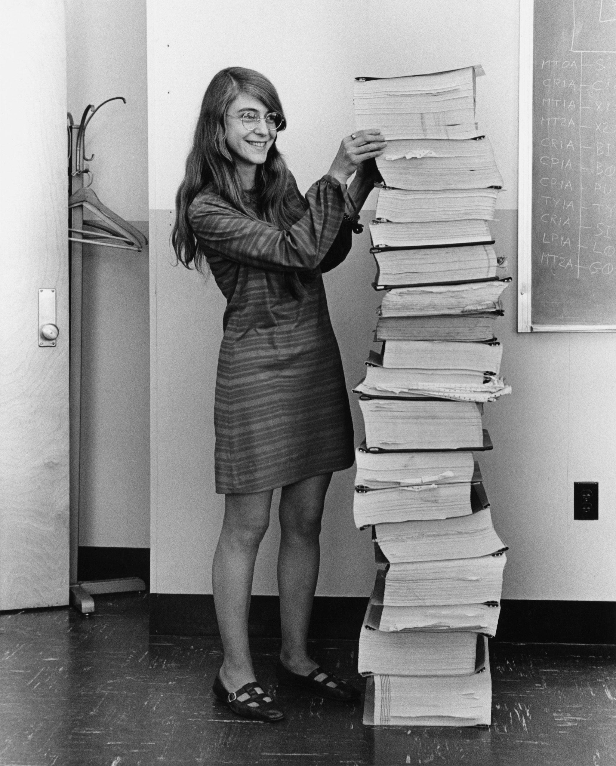 Margaret Hamilton and her navigation software