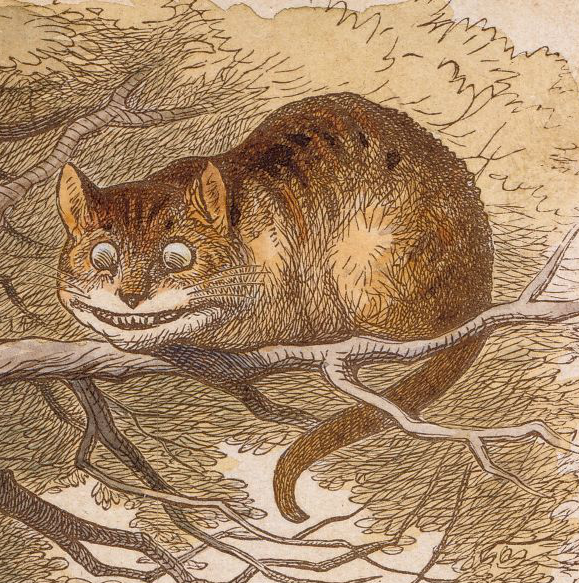 John Tenniel's Cheshire Cat illustration