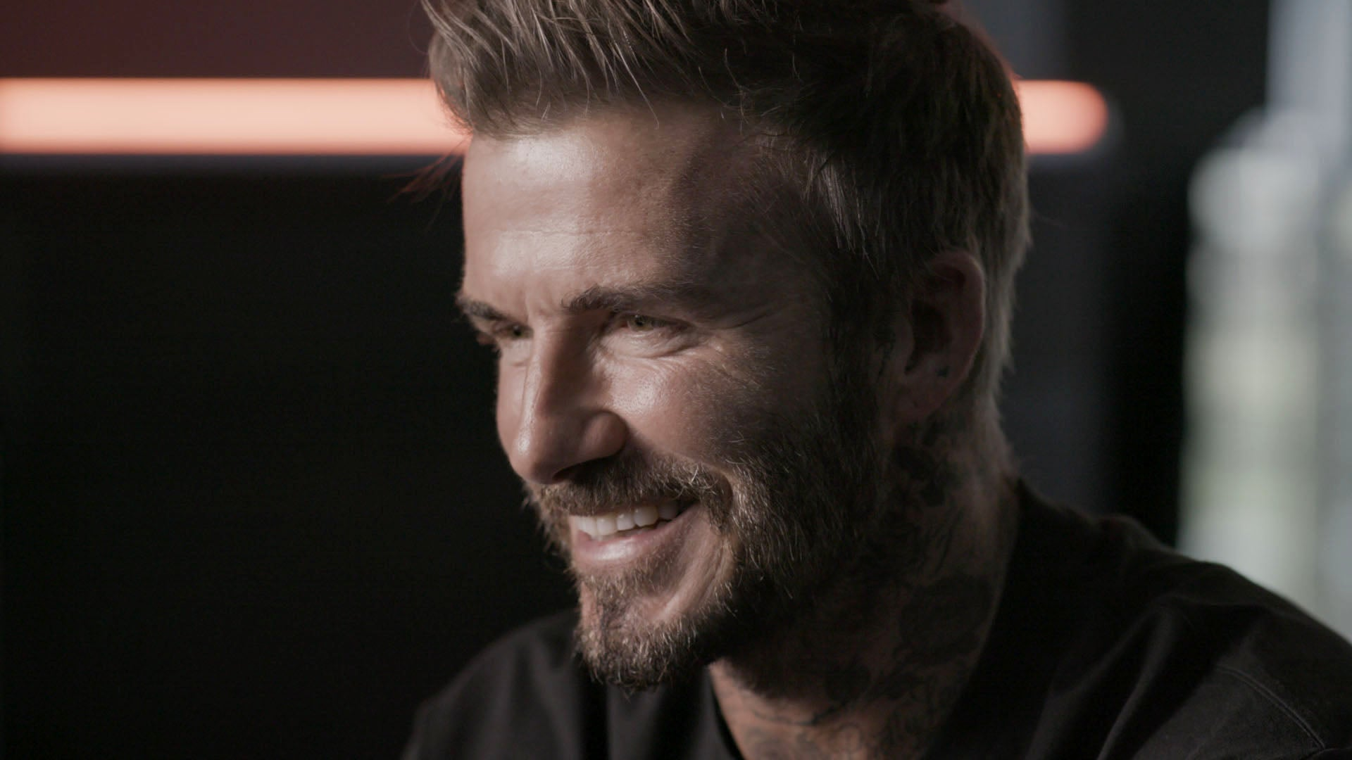 David Beckham on BBC Fever Pitch, copyright StoryFilms