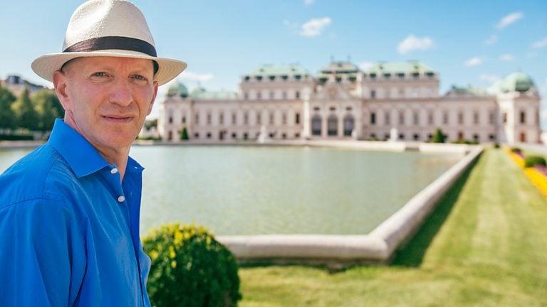 Simon Sebag Montefiore in Vienna for BBC series