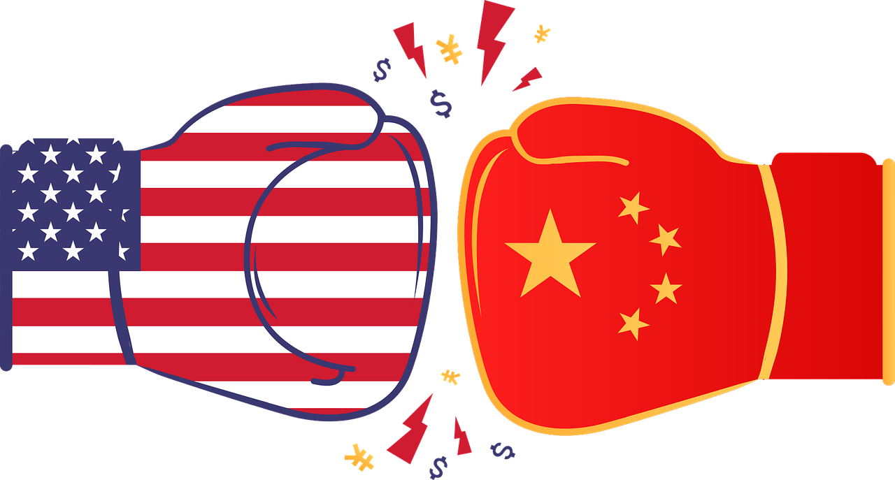 US vs China trade graphic