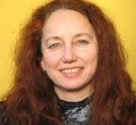 A photograph of Dr Ursula Stickler