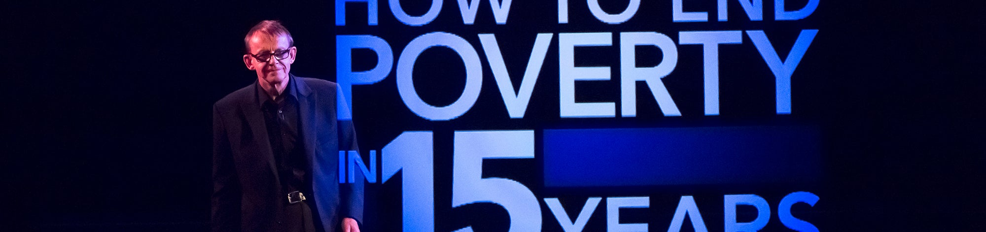 Hans Rosling on How to end poverty in 15 years