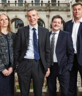 The presenters of the Bank Of England