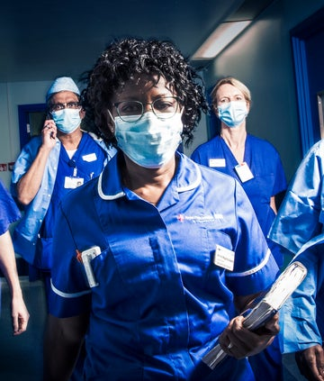 BBC Hospital, Group shot