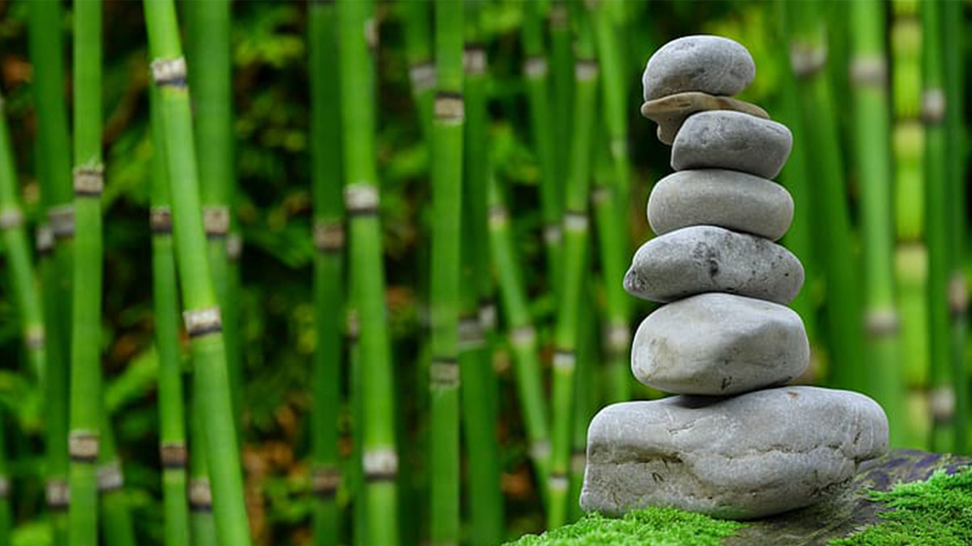 A photo of a pillar of rocks stacked in a column, balancing precariously