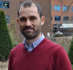 A photograph of Dr Philip Wheeler