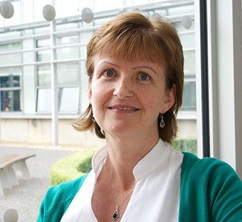 A photograph of Doctor Joan Simons