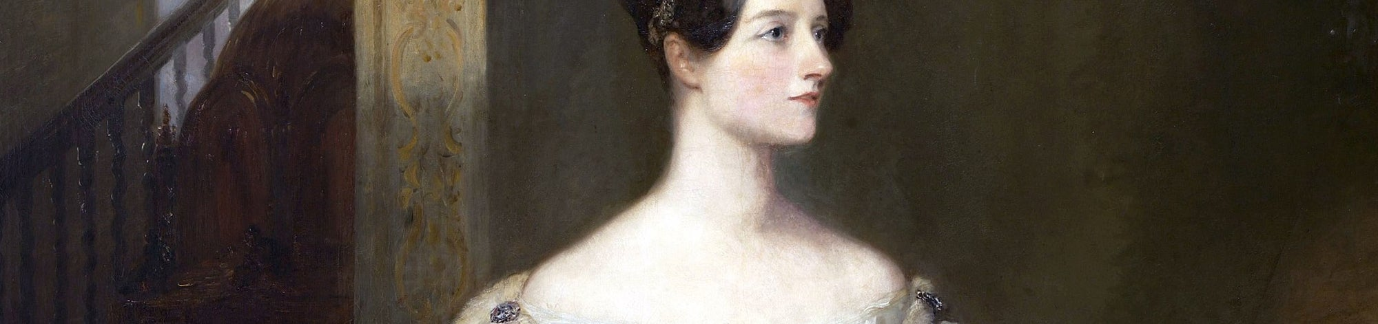 Ada Lovelace - painting crop