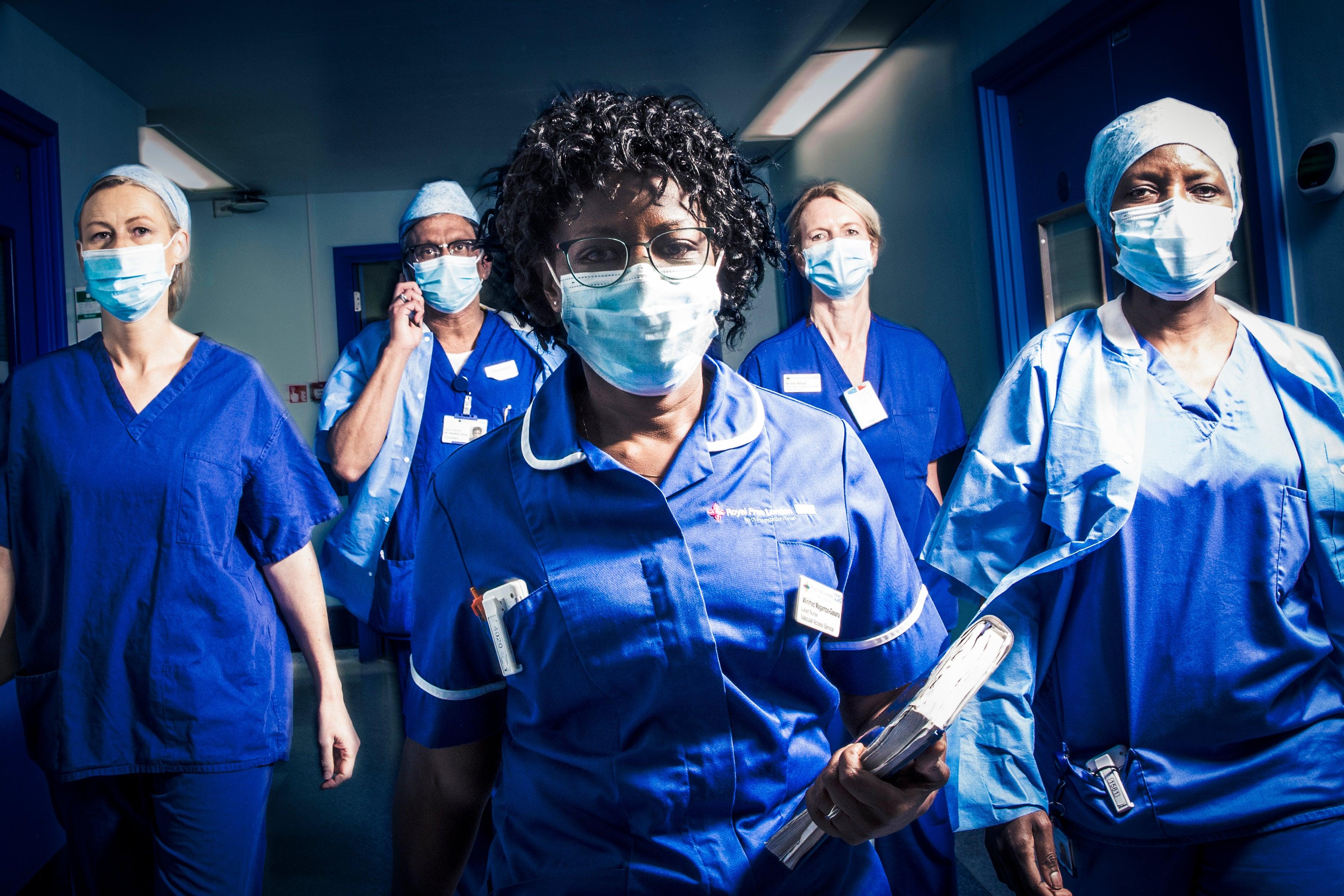 Hospital still, BBS series. Copyright: Label 1