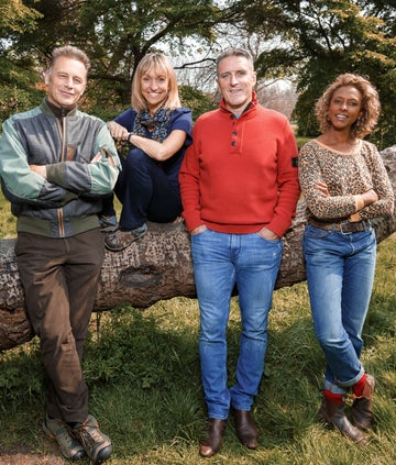 Presenters from Springwatch 2020, BBC