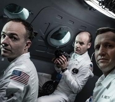 8 Days to the moon, BBC Series - Apollo 11 crew