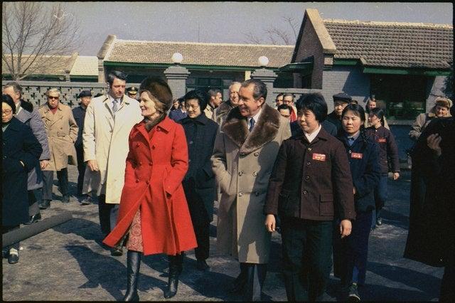 Richard Nixon in China 1972