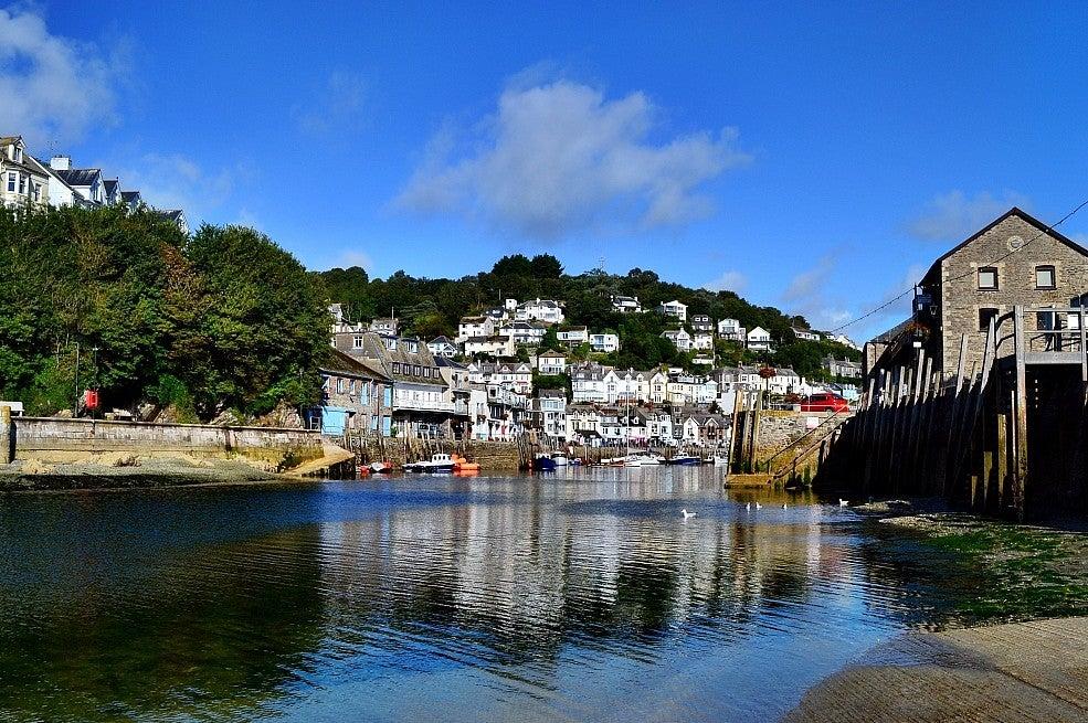 Looe harbour, Cornwall UK