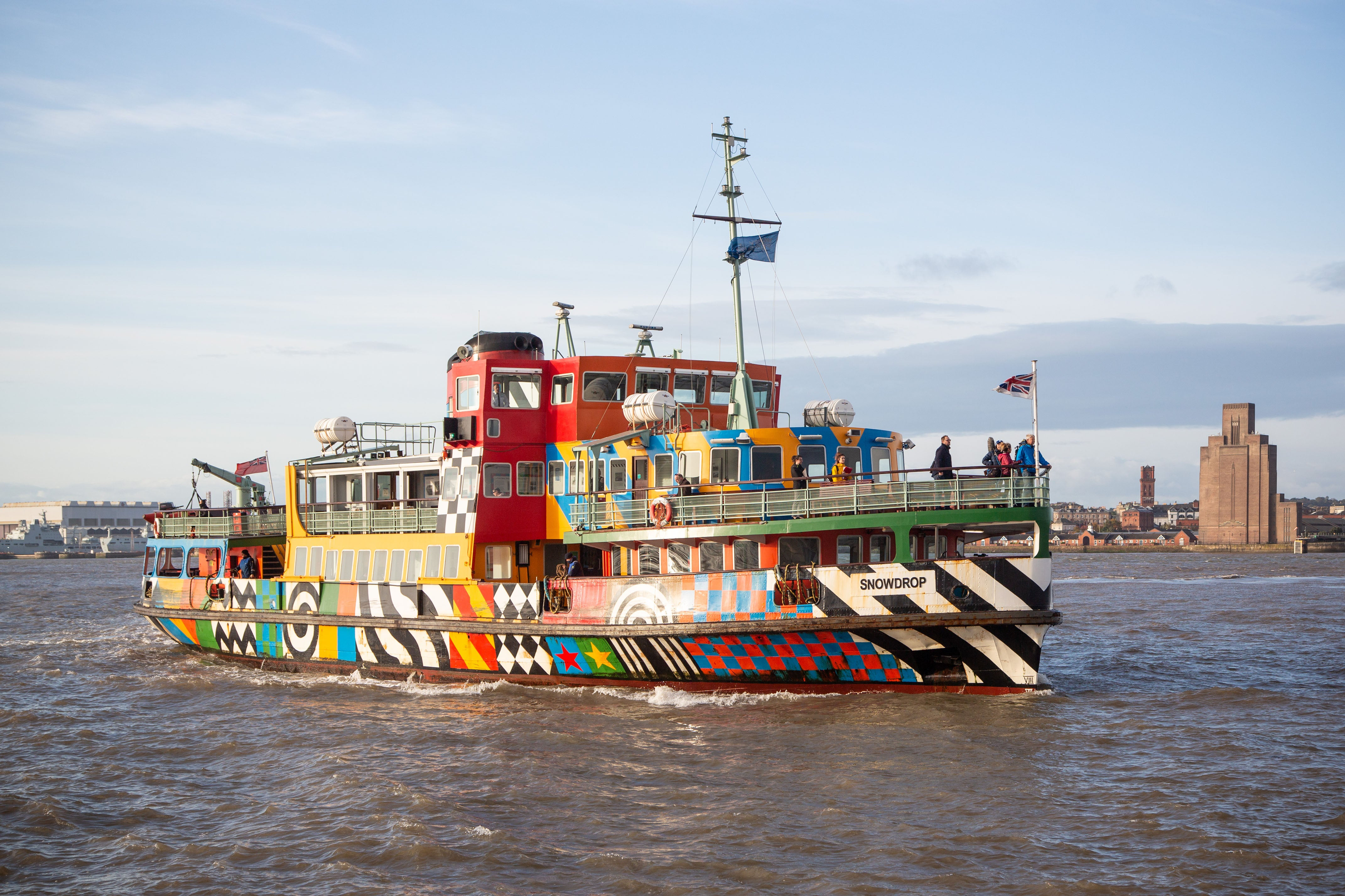 Photo of Snowdrop, a ferry in Liverpool - Our Coast