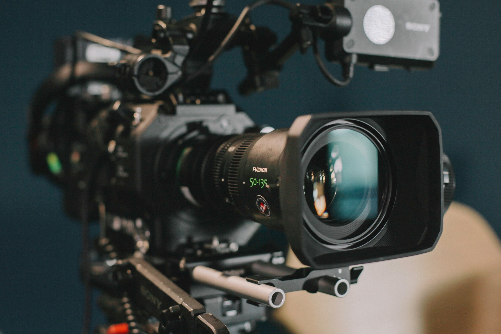 A picture of a video camera
