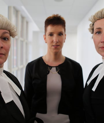 The leading counsel from The Prosecutors BBC series