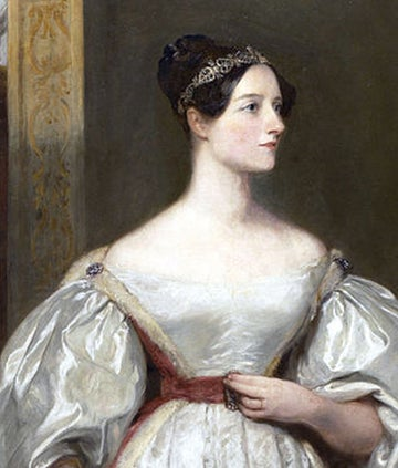 A painting of Ada Lovelace
