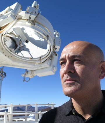 Professor Jim Al-Khalili on the BBC series The beginning and the End of the Universe