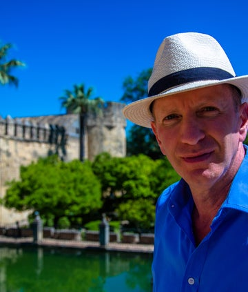 Simon Sebag Montefiore in Spain