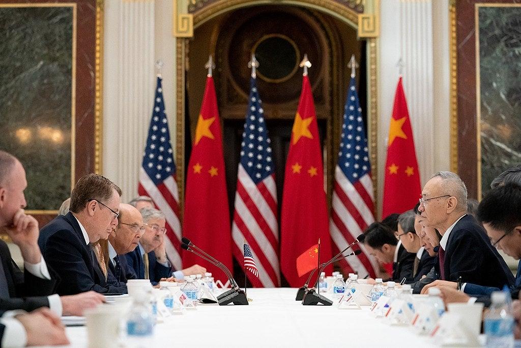 U.S China Trade Discussions