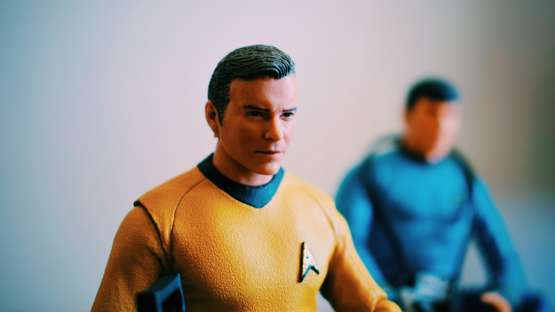 Star Trek action figures, Captain Kirk
