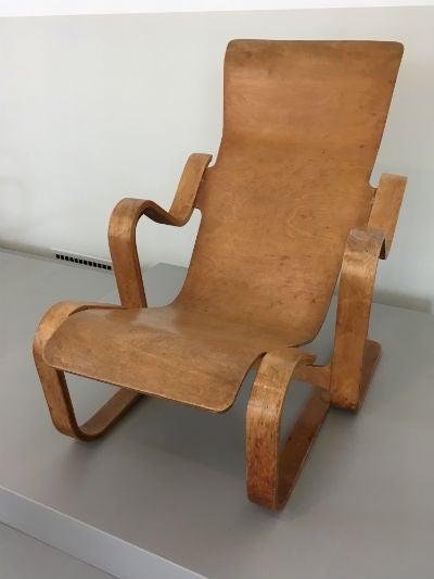 Marcel Breuer Armchair (1936), Collection Museum Boijmans Van Beuningen,