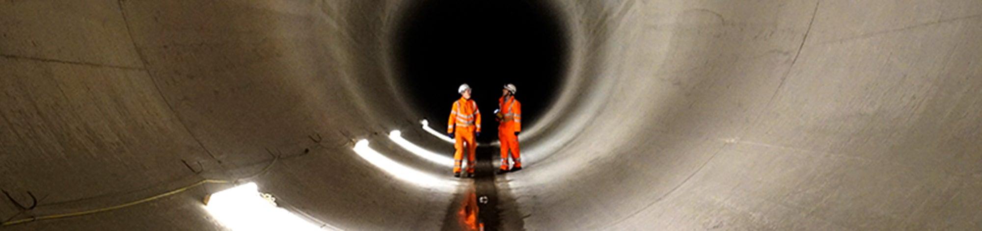 Lee Tunnel - BBC Super Sewer series - Tom Swingler (Raw TV Ltd)