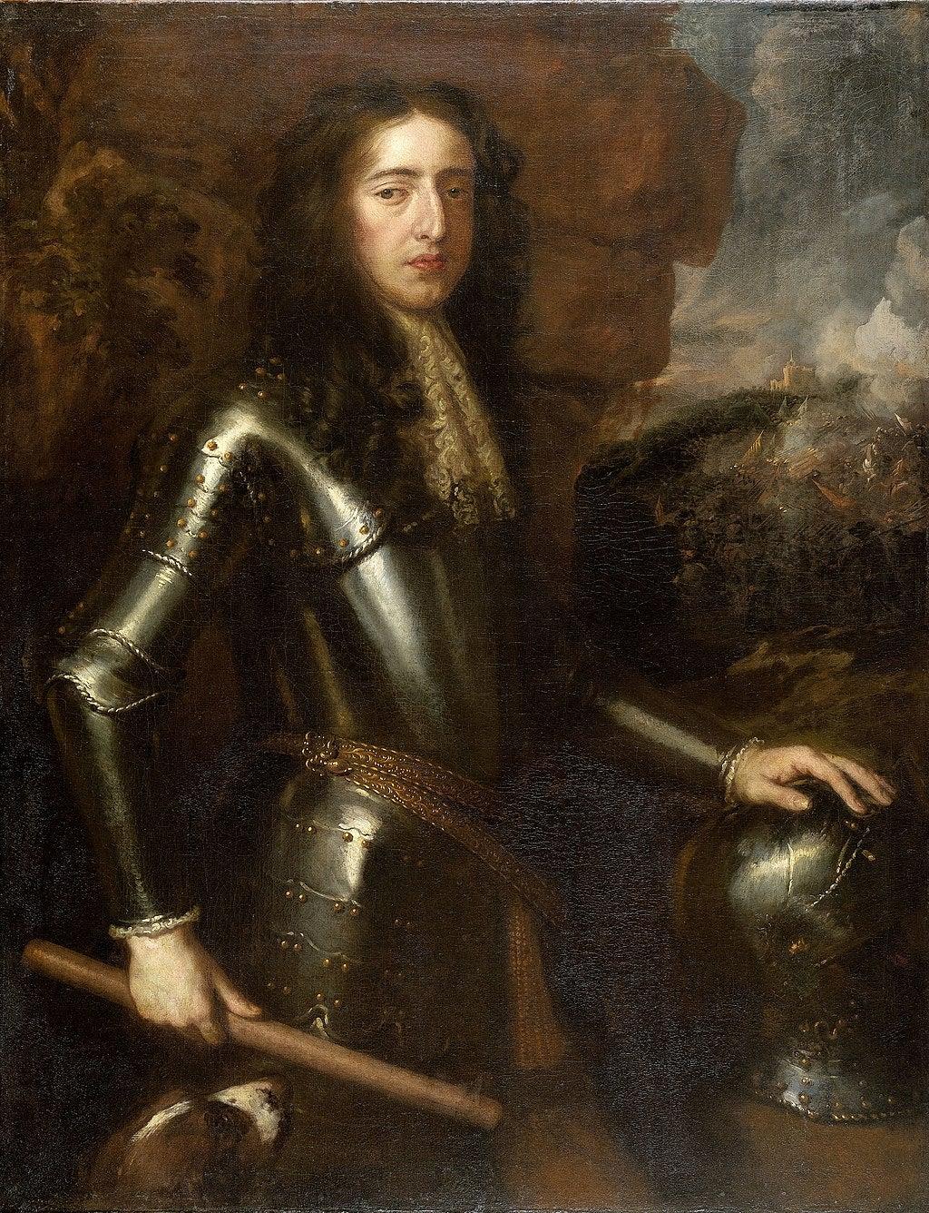 A painting of William III of England - William of Orange