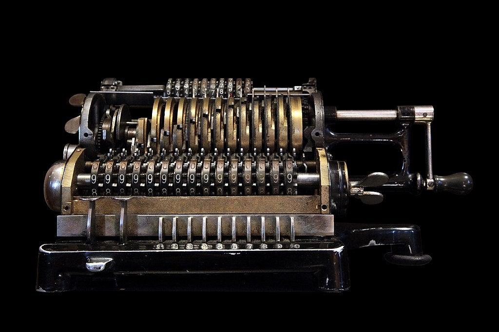 Odhner mechanical computer