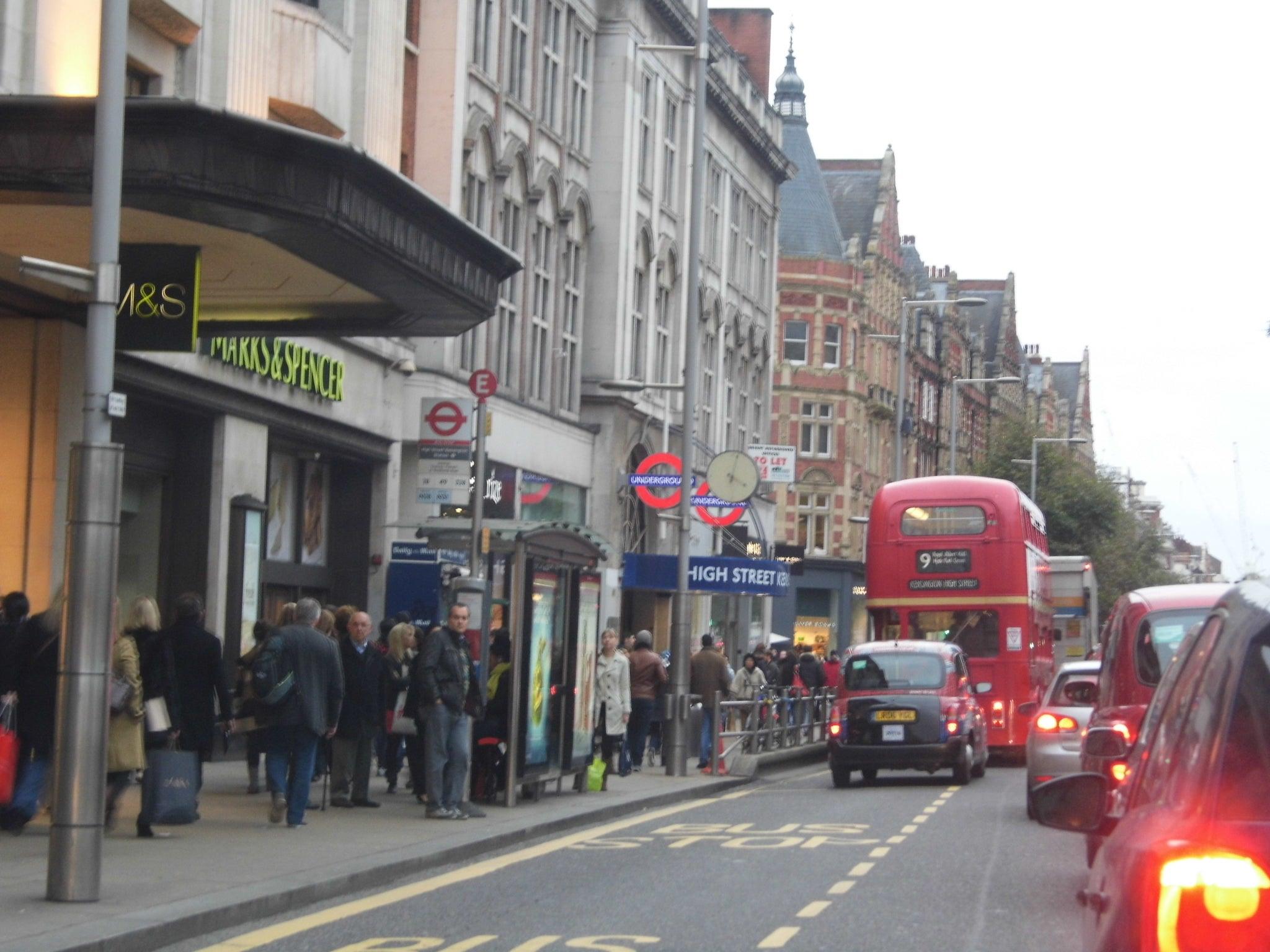 A picture of Kensington, London
