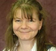 A photograph of Dr Vicky Taylor