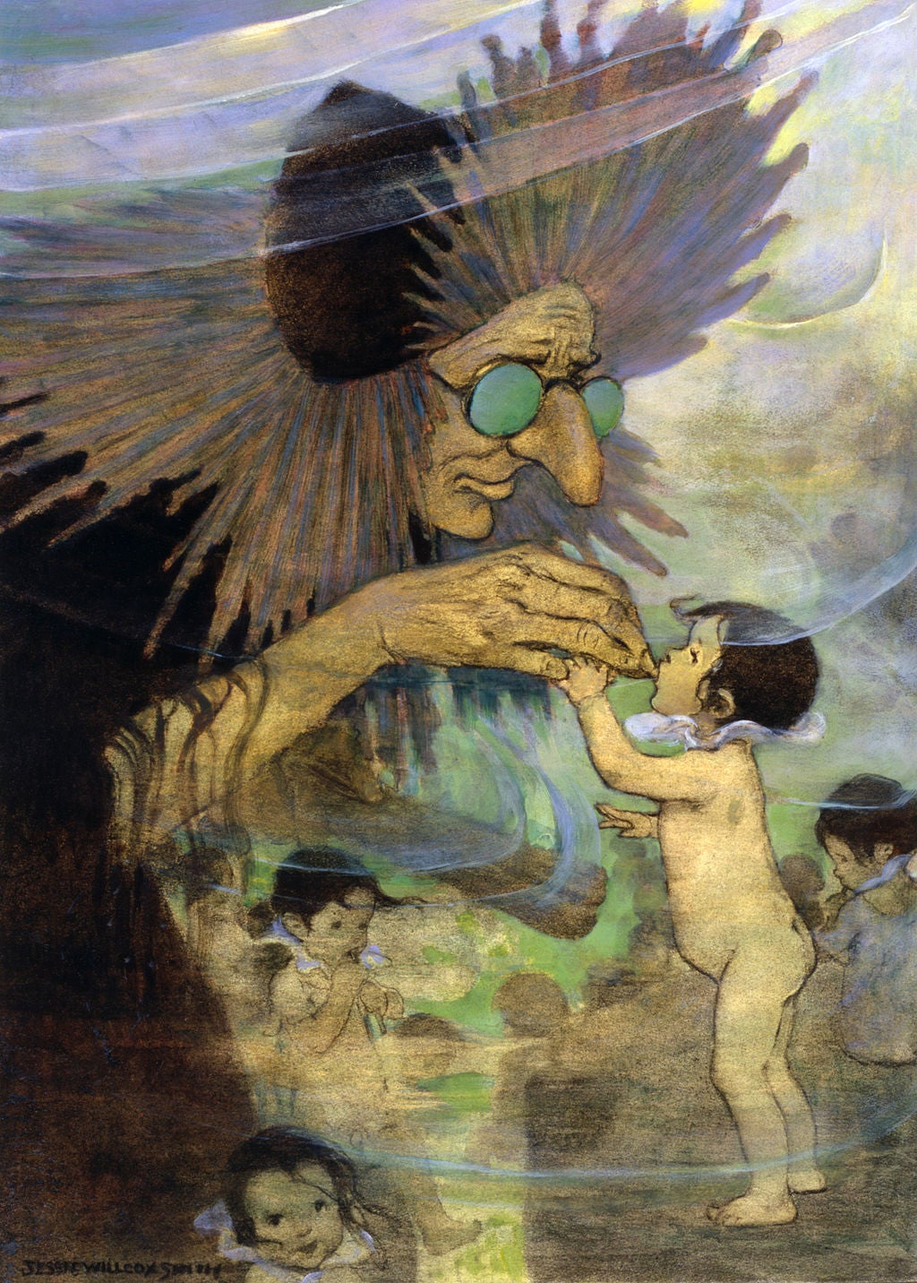 The Water Babies, illustrated by Jessie Willcox Smith