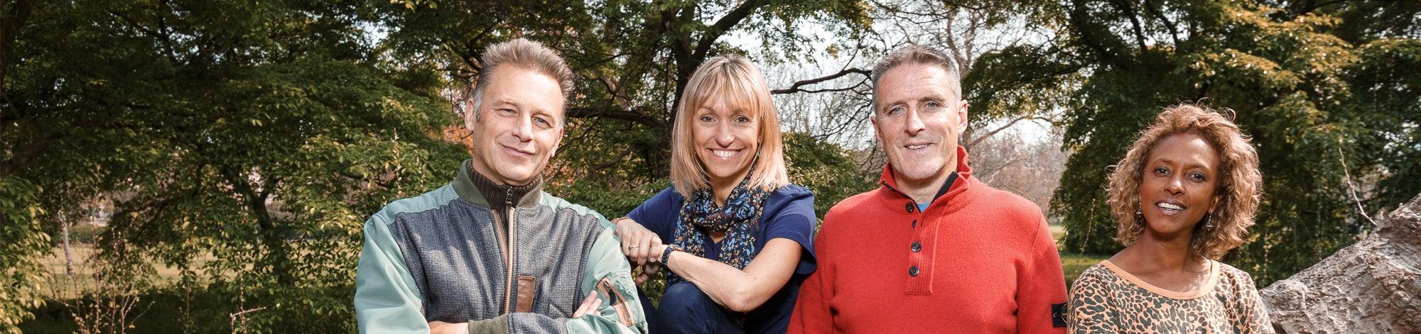 Springwatch presenters, BBC