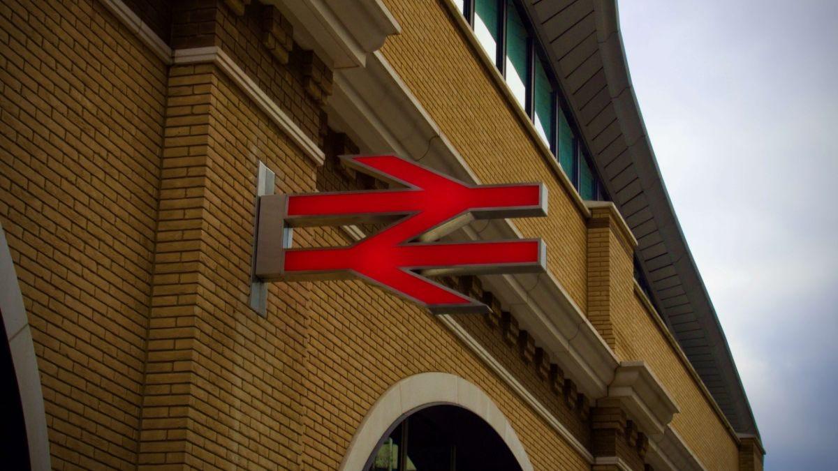 British Rail sign on building