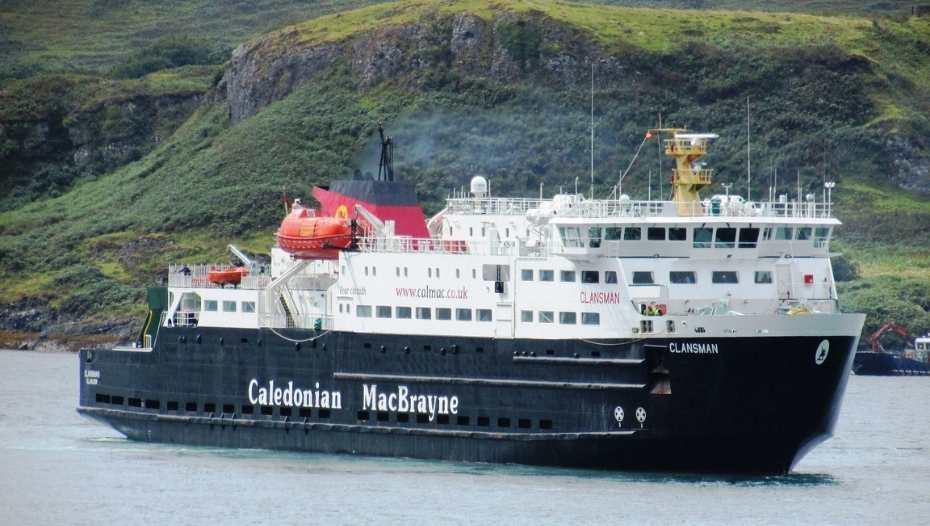 A Caledonian MacBrayne Ferry