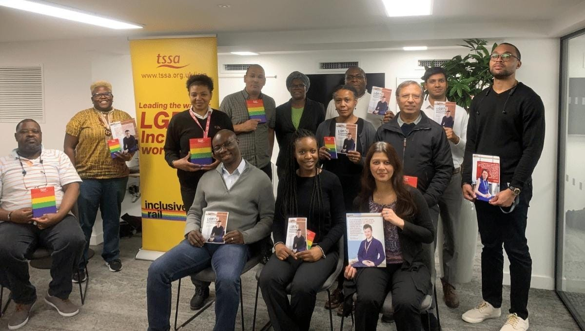 BAME & Stonewall event participants