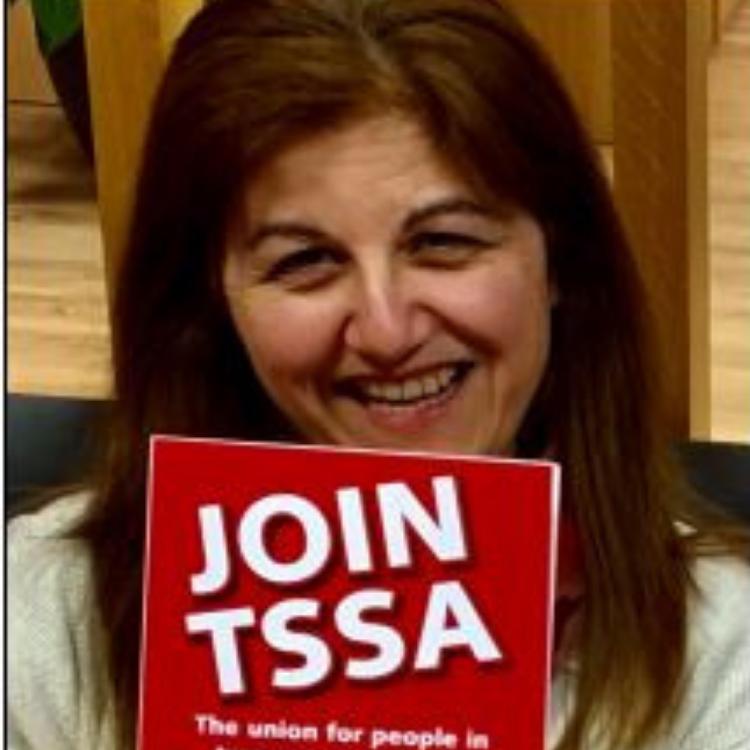 Nicola Jukes, TSSA Executive Committee member